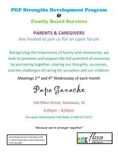 Family Focus Group @ Papa Ganache Bakery