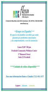 Spanish Support Group @ Freehold Community Wellness Center