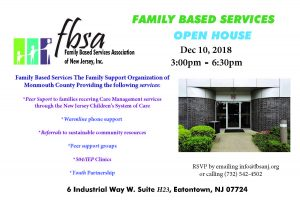 FBSA Open House @ Family Based Services