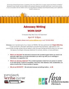 Advocacy Writing Project @ Family Based Services